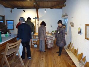 1月にオープンしたギャラリー&カフェ