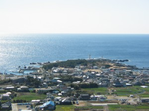 城山展望台からの眺め