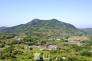 富山を空撮