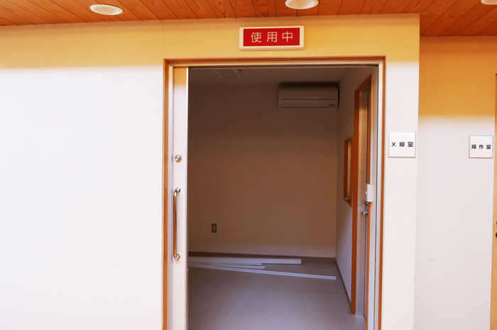 元X線室の画像