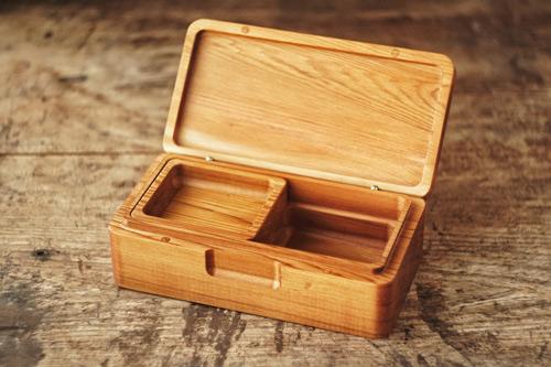 キス釣りの餌箱の画像