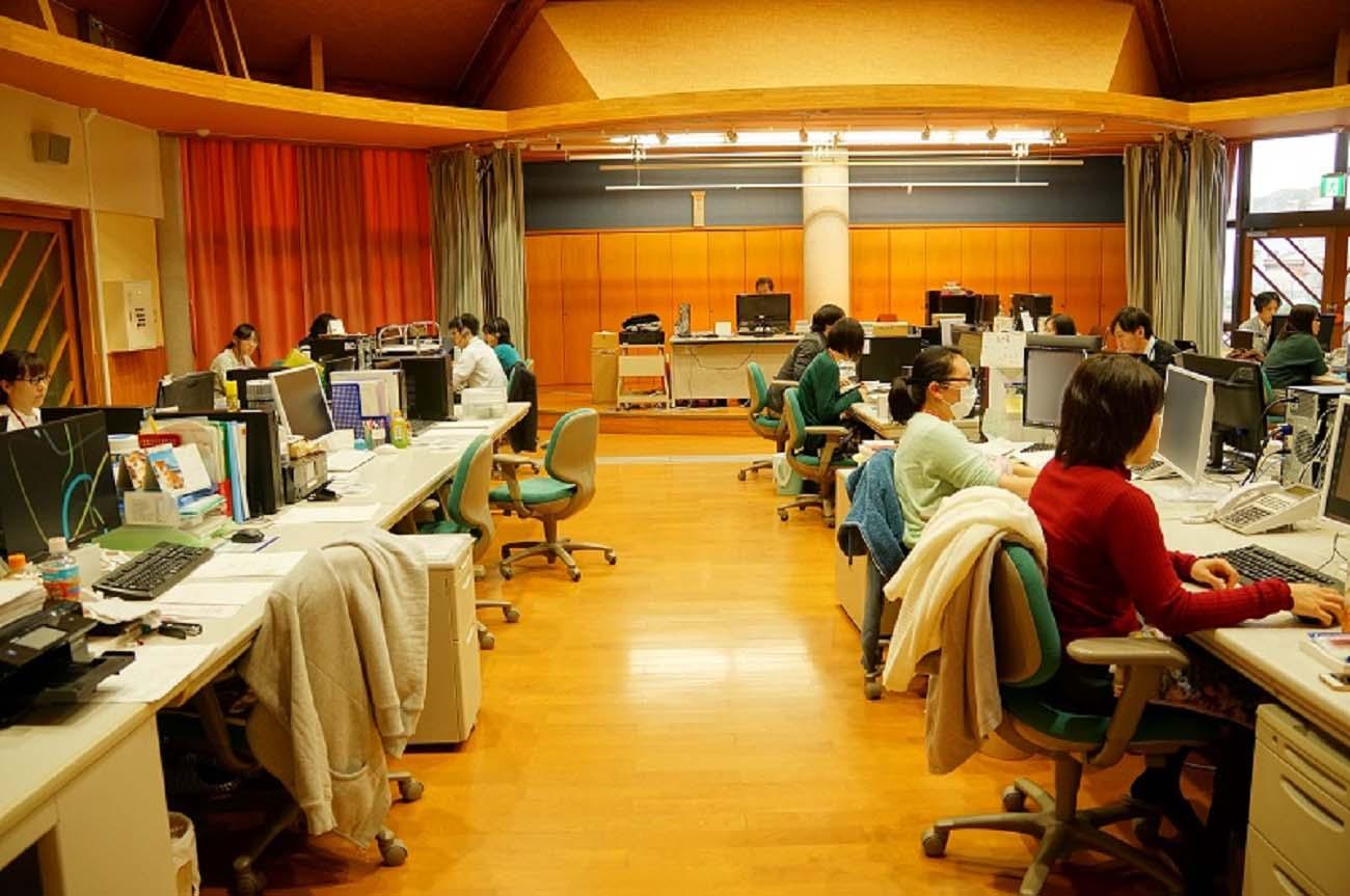 インターコムR&Dセンターのオフィスの画像