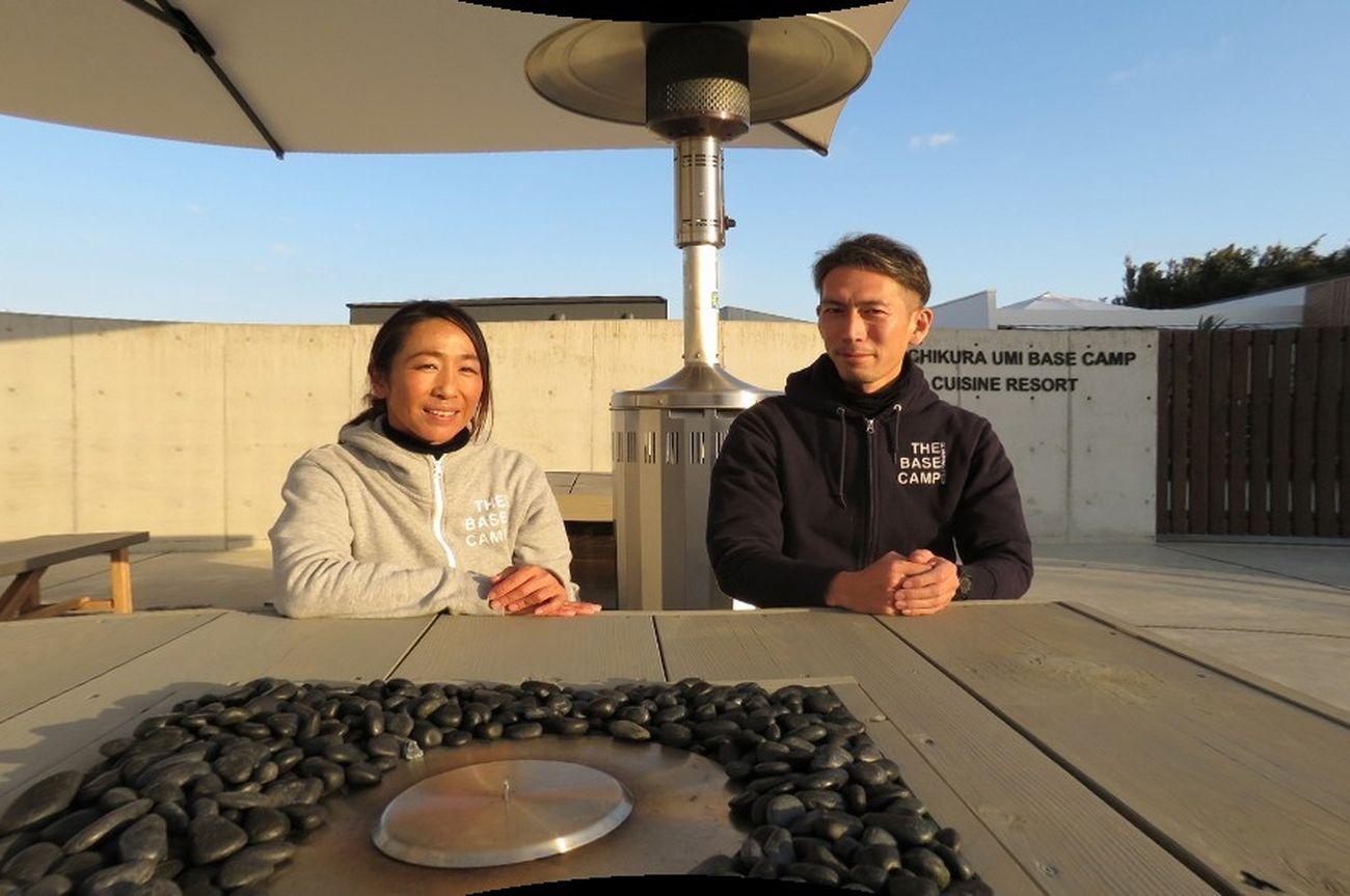 田原さんと川口さんの画像