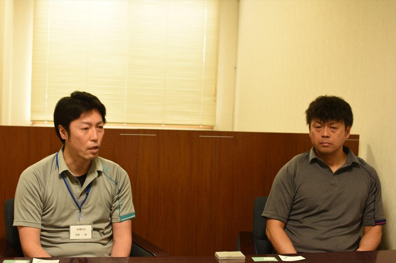 看護師長 曽根さんと事務長代理 小宮山さんの画像