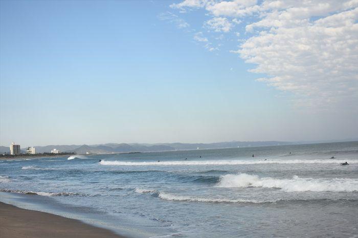 南千倉海水浴場のサーフスポットの画像