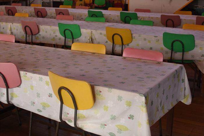 改装前の食堂の画像