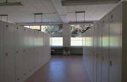 ロッカールームの画像