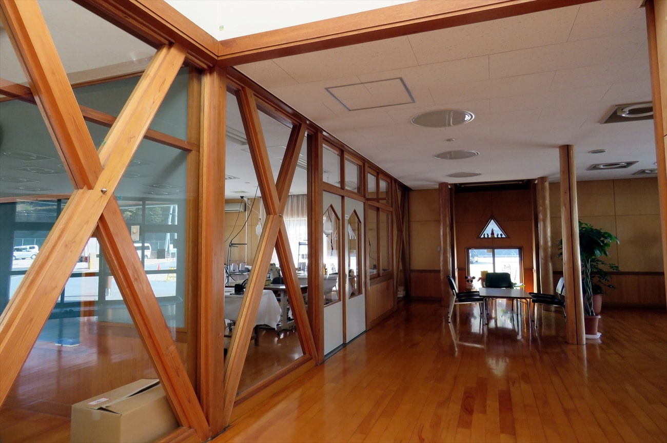 研修技術室と休憩スペース