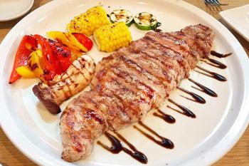 サーロインステーキの画像