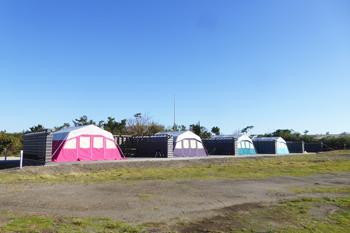 ちくらつなぐホテルのキャンプ場