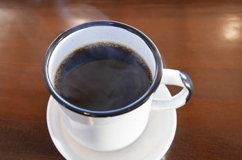 釜井さんがハンドドリップでいれたコーヒー