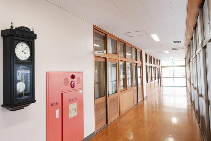校舎棟2階