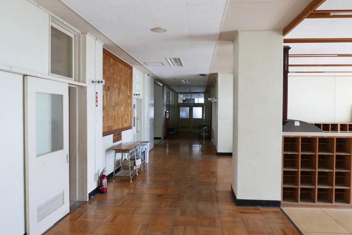 特別教室棟内部