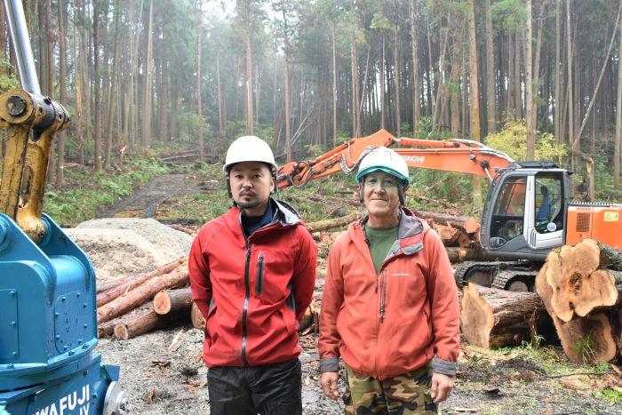 石井さん(左)と代表の武山さん