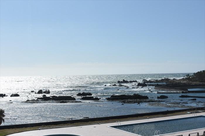 白浜オーシャンリゾート前の海