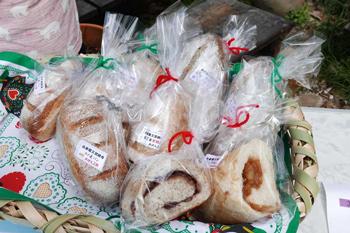 南房総産の果物を使ったパン